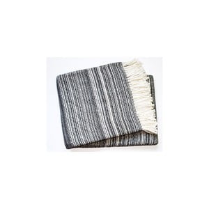 Deka Toscana Plaid Dark Grey, 140x180 cm