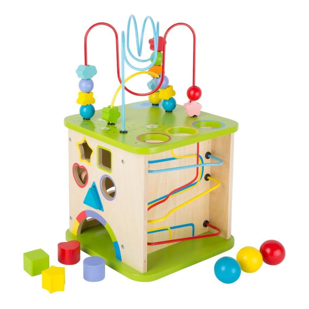 Drevená hračka pre rozvoj motoriky Legler Skills World