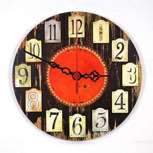 Nástenné hodiny Twelve, 30 cm