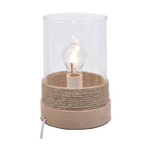 Drevená stolová lampa Natural