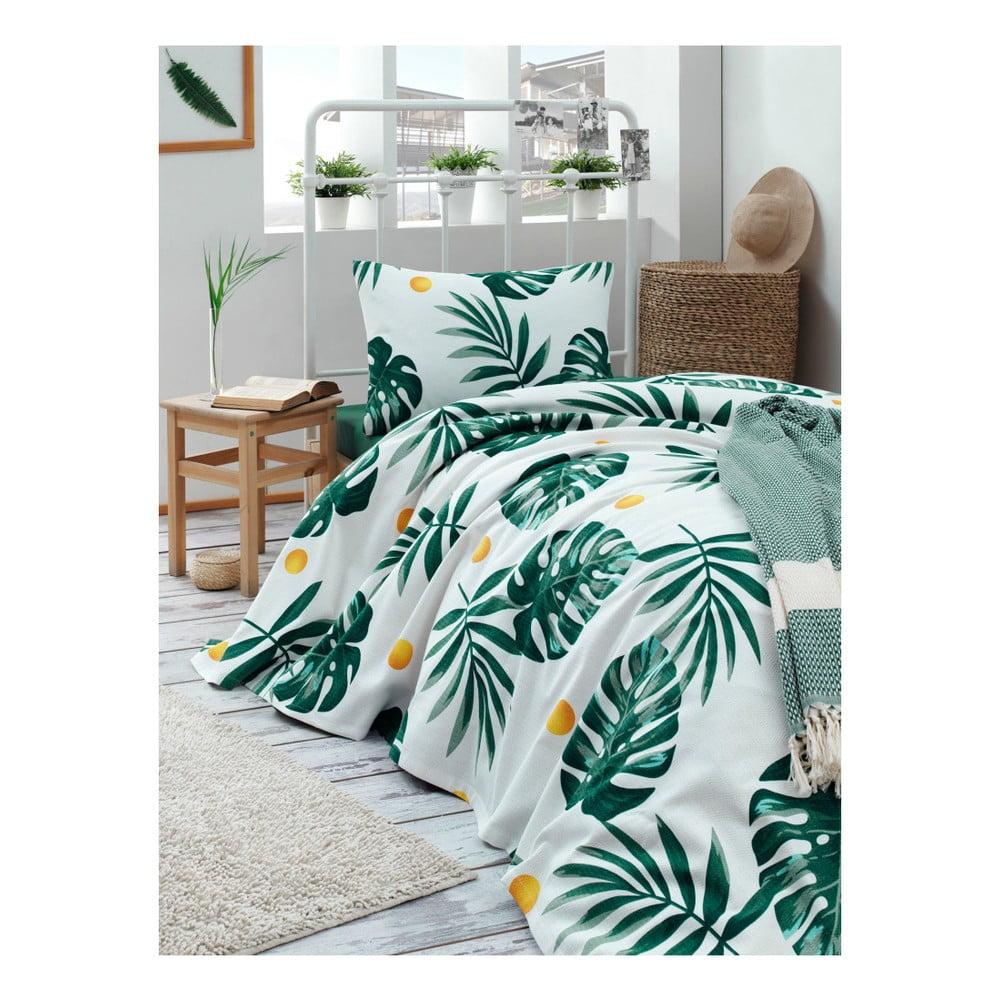 Set bavlnenej ľahkej prikrývky cez posteľ, plachty a obliečky na vankúš Missmo Mula, 160 × 235 cm