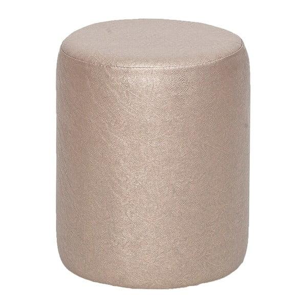 Guľatý puf Rodhio, metalíza