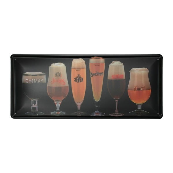 Ceduľa Beers, 20x30 cm