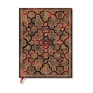 Zápisník s mäkkou väzbou Paperblanks Mystique, 18 x 23 cm