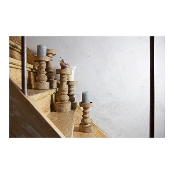 Drevený svietnik BePureHome Sale, výška35cm