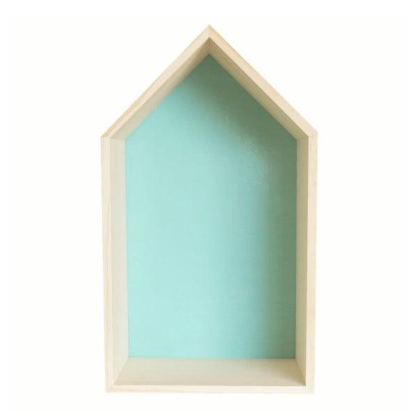 Dekorácia Casita Nordic Azul