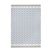 Modro-biely koberec Hanse Home Cubic, 70x140cm