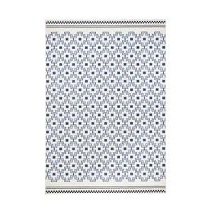 Modro-biely koberec Hanse Home Cubic, 200×290cm