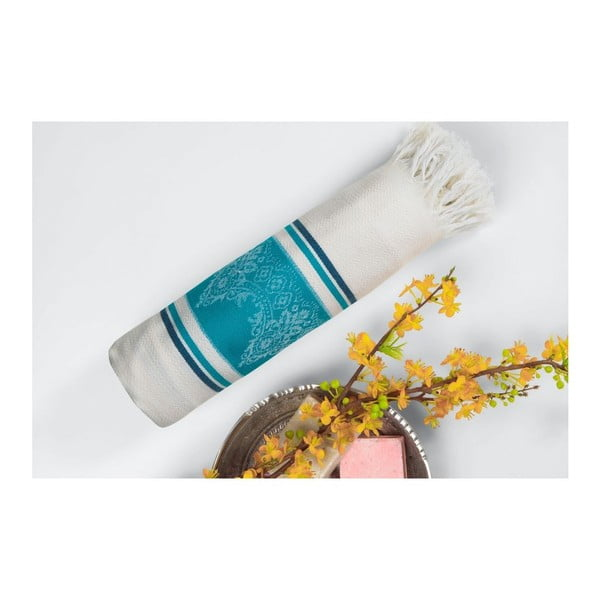 Hammam osuška Loincloth Turquoise,80x170 cm