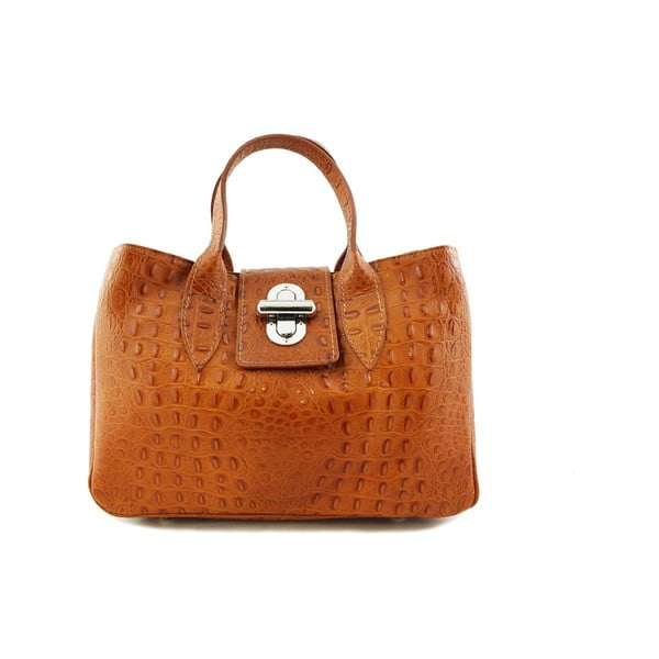 Kožená kabelka Bonita Cognac