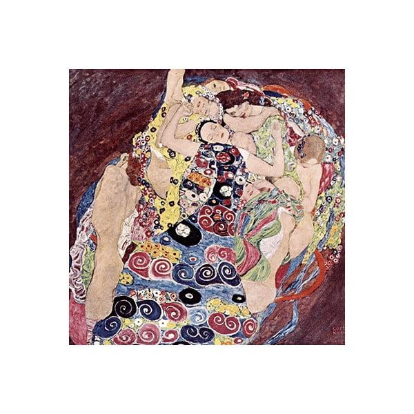 Reprodukcia obrazu Gustav Klimt - Virgins, 40x40cm