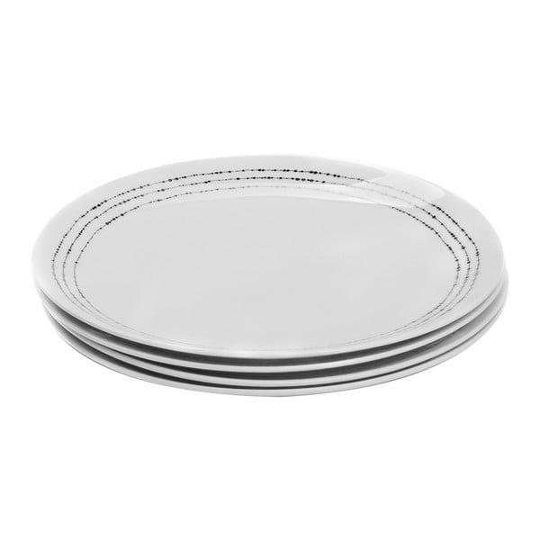 Sada 4 porcelánových tanierov Sola Lunasol, 27cm