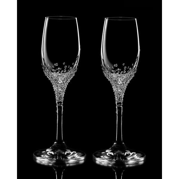 Sada 2 pohárov na likér Eunomia so Swarovski Elements v luxusnom balení