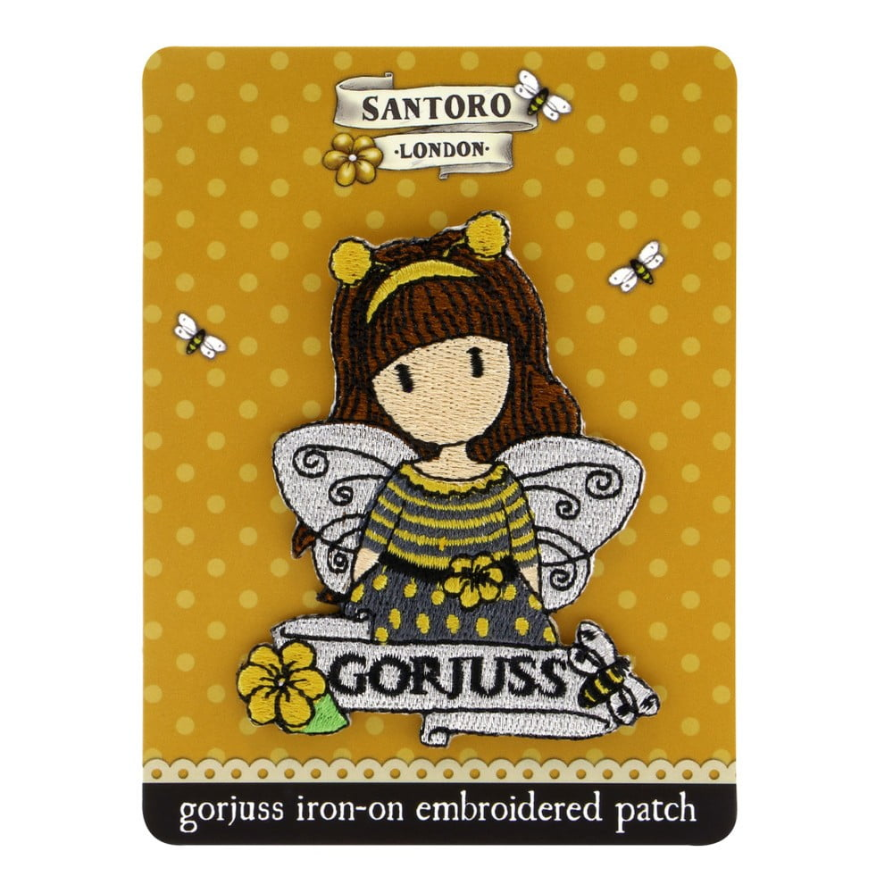 Nažehlovacia nášivka na oblečenie Gorjuss Bee-Loved