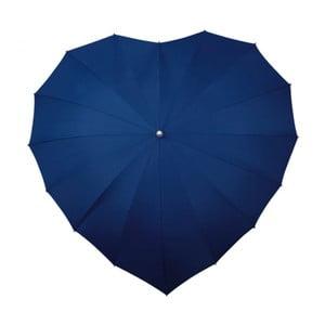 Dáždnik Navy Blue Heart