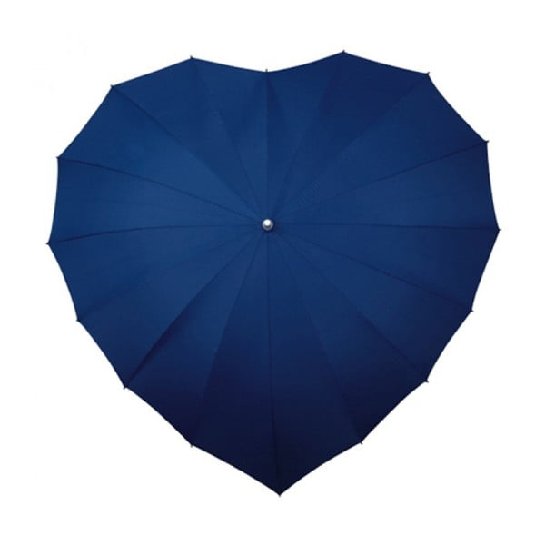 Dáždnik Navy Blue Heart