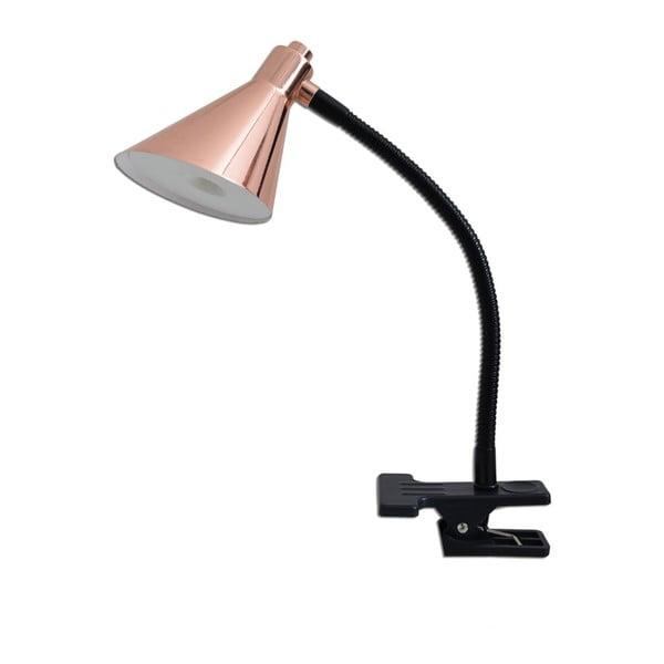 Stolová lampa Naeve Copper Black Clip