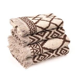 Sada 4 bavlnených uterákov CasaDiBassi Mediva