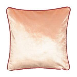 Svetloružový vankúš Kate Louise Mila, 45 × 45 cm