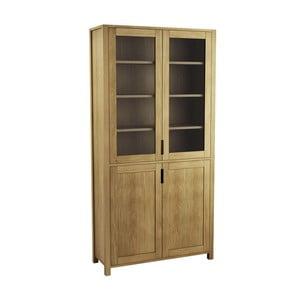 Knižnica z dubového dreva Fornestas Sims