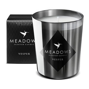 Sviečka s vôňou cédra, santalového dreva, vanilky a feferónky Meadows Vesper, 60 hodín horenia