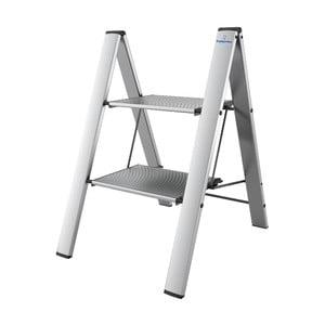 Strieborný skladací rebrík Colombo New Scal Leonardo 2