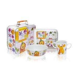 Raňajkový set v kufríku Lion
