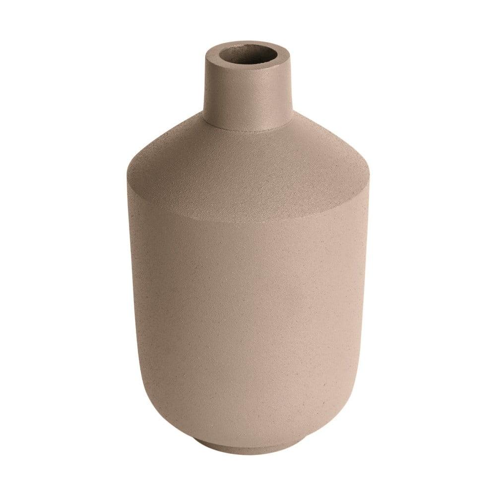 Béžová váza PT LIVING Nimble Bottle, výška 15,5 cm