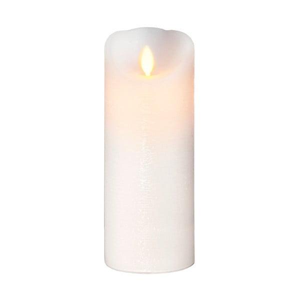Vosková LED sviečka, 20 cm