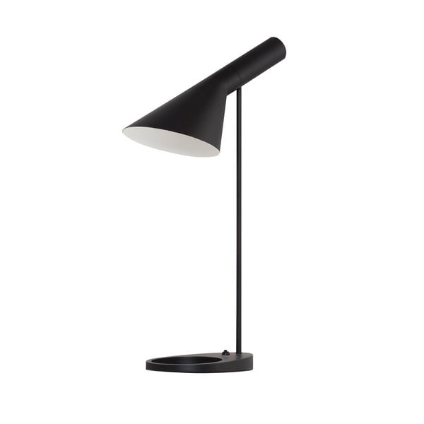 Stolná lampa Feliz, čierna