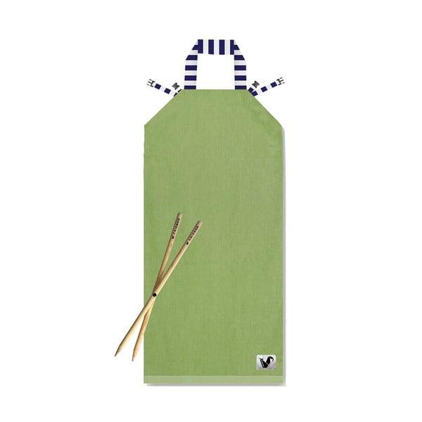 Plážové ležadlo Origama Olive Stripes