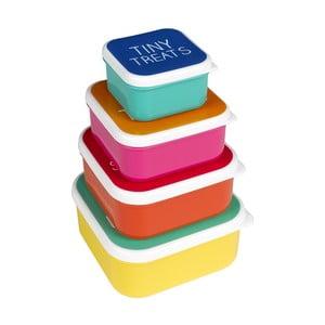 Set 4 ks desiatových boxov Happy Jackson Snack