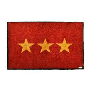 Rohožka Stars Red, 50x70 cm