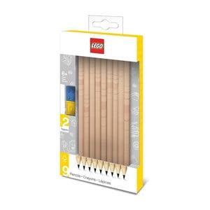 Sada 9 grafitových ceruziek LEGO®
