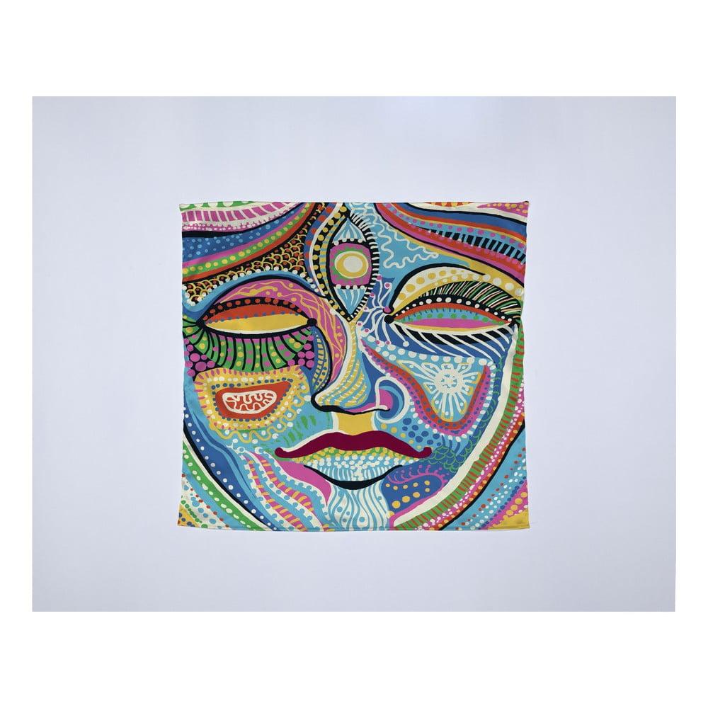 Módna šatka Madre Selva Face, 55 × 55 cm