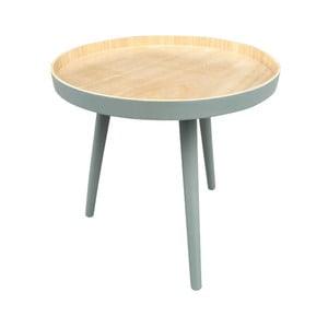 Odkladací stolík se zelenou konštrukciou WOOOD Sasha
