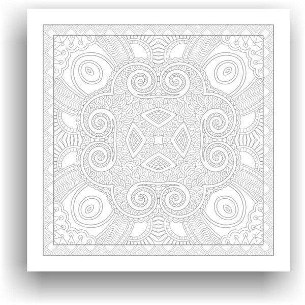 Obraz na vymaľovanie Color It no. 109, 50x50 cm