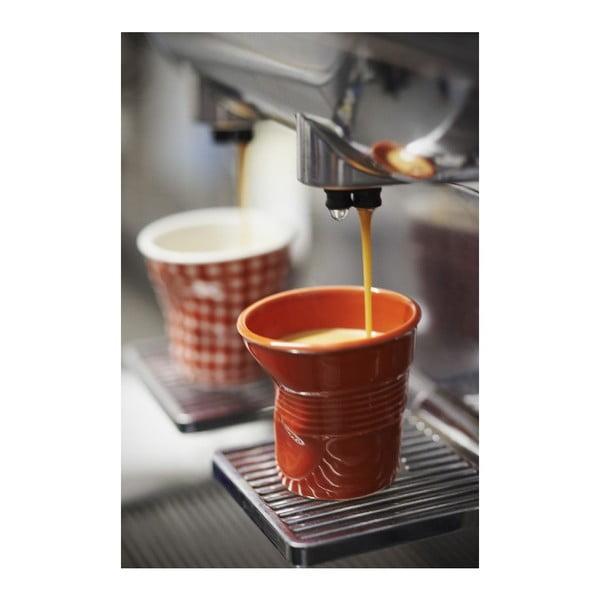 Pohárik na espresso Froisses 8 cl, paprikový