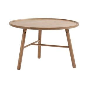 Prírodný brezový odkladací stolík Folke Saga