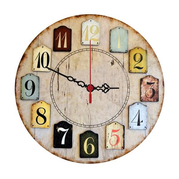 Nástenné hodiny Numbers, 30 cm
