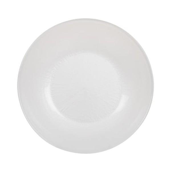 Sada 18 ks keramických tanierov Milano Blue/White