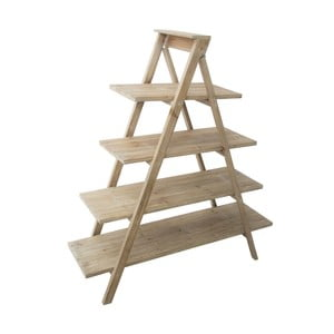 Stojan z jedľového dreva Mauro Ferretti Stairway, 132 cm