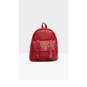 Červený dámsky batoh Mori Italian Factory Calessio