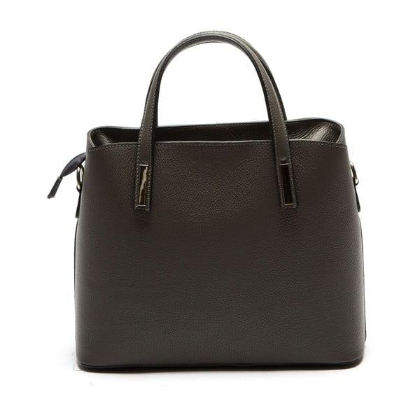Sivá kožená kabelka Sofia Cardoni Valeria