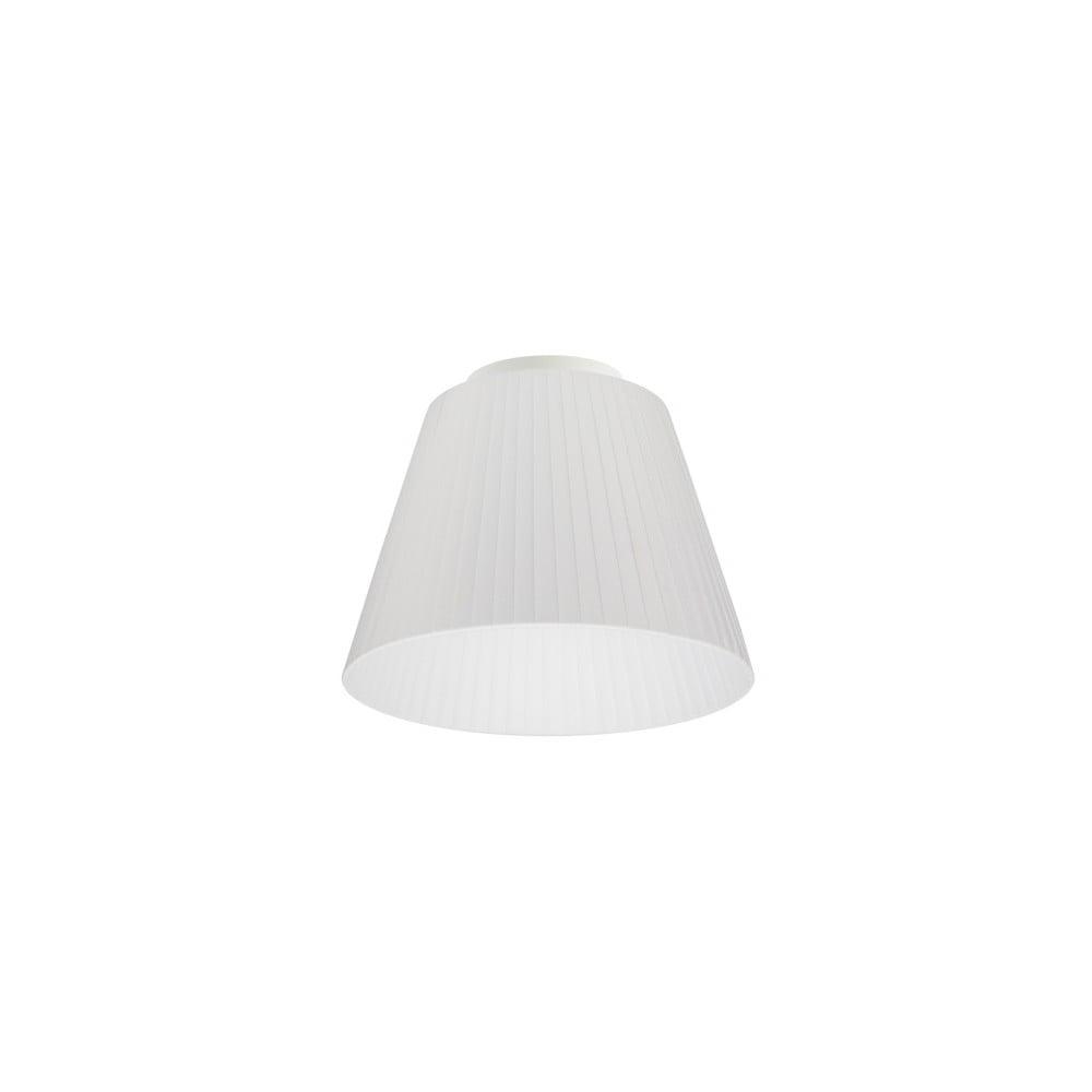 Biele stropné svietidlo Sotto Luce KAMI, Ø 24 cm
