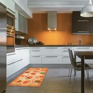 Vysokoodolný kuchynský koberec Webtappeti Cakes, 60 x 115 cm