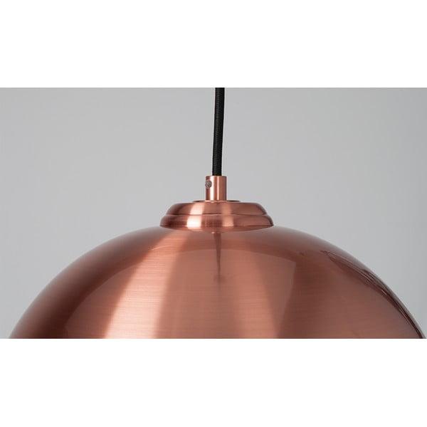 Závesné svietidlo Big Glow Copper