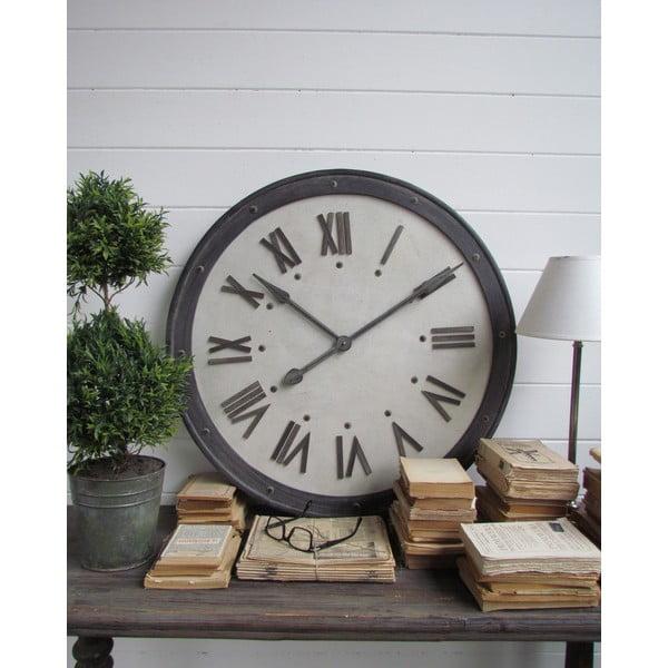 Nástenné hodiny Industrial, 80 cm