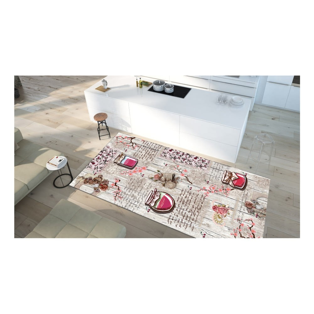 Odolný koberec Vitaus Pannoma, 50 × 80 cm