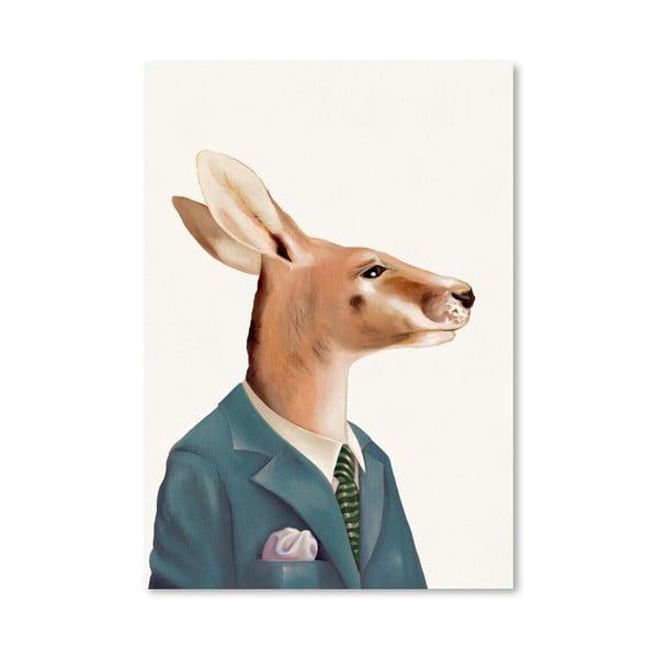 Plagát Kangaroo, 30x42 cm